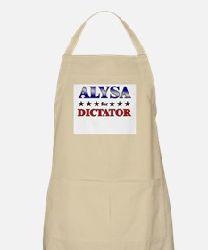 ALYSA for dictator BBQ Apron