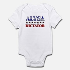 ALYSA for dictator Onesie