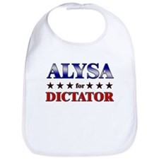ALYSA for dictator Bib