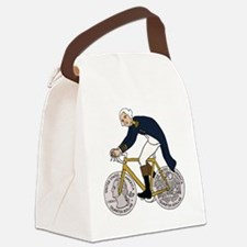 Funny Fdr Canvas Lunch Bag