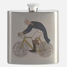 Funny George washington Flask