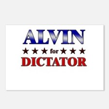 ALVIN for dictator Postcards (Package of 8)