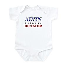ALVIN for dictator Infant Bodysuit