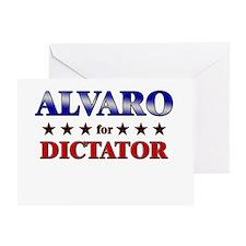 ALVARO for dictator Greeting Card