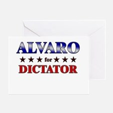 ALVARO for dictator Greeting Card