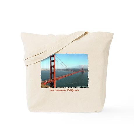 Golden Gate Bridge, SF - Tote Bag