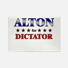 ALTON for dictator Rectangle Magnet