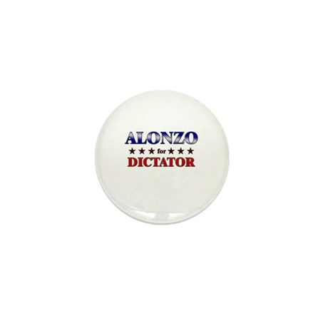 ALONZO for dictator Mini Button