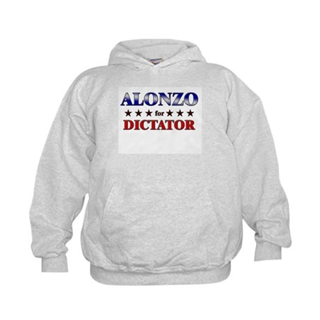 ALONZO for dictator Kids Hoodie