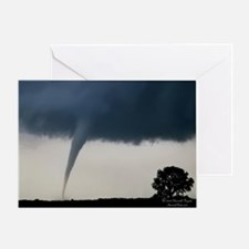 Cute Thunderstorm Greeting Card