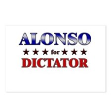 ALONSO for dictator Postcards (Package of 8)