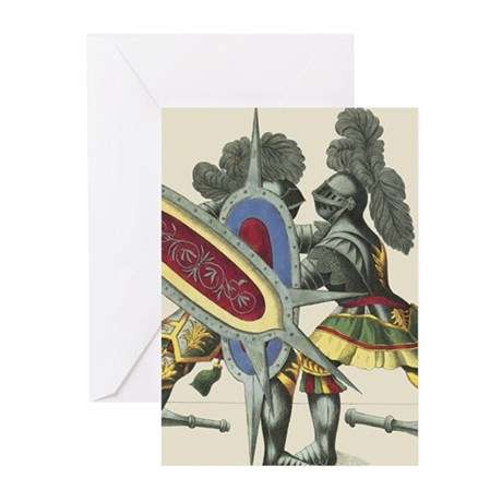 Knights 5 Store Greeting Cards (Pk of 20)
