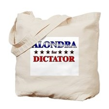 ALONDRA for dictator Tote Bag