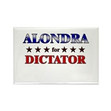 ALONDRA for dictator Rectangle Magnet