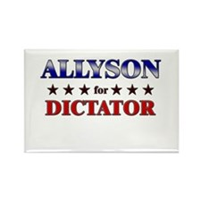 ALLYSON for dictator Rectangle Magnet