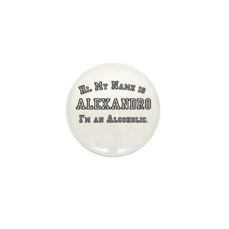 Alexandro Mini Button (10 pack)