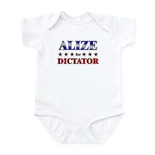 ALIZE for dictator Infant Bodysuit