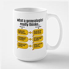 Genealogist Thinks Mug
