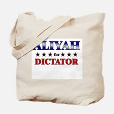 ALIYAH for dictator Tote Bag