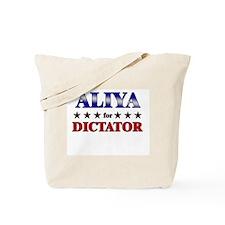 ALIYA for dictator Tote Bag