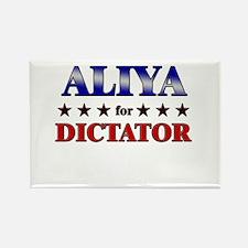 ALIYA for dictator Rectangle Magnet