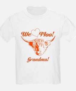 We love Moo! Highland Cow T-Shirt