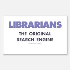Librarians Rectangle Decal
