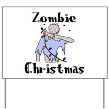 Cute Zombie Yard Sign
