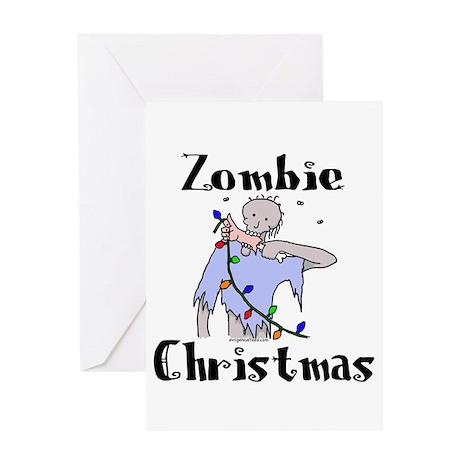 zombiexmas Greeting Cards
