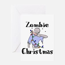 zombiexmas Greeting Cards