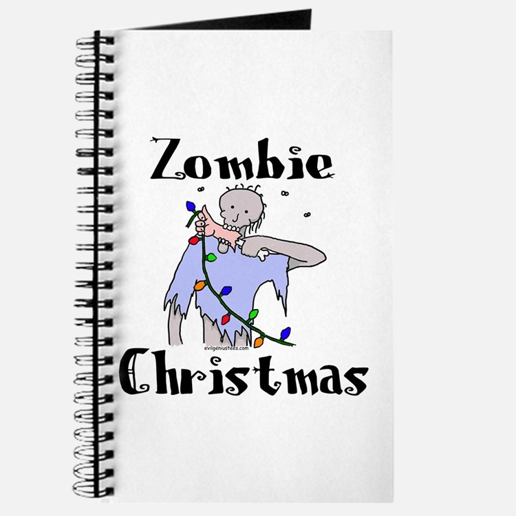 Cute Zombie christmas Journal