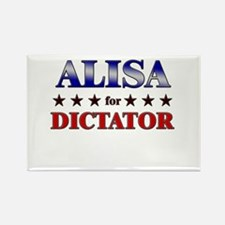 ALISA for dictator Rectangle Magnet