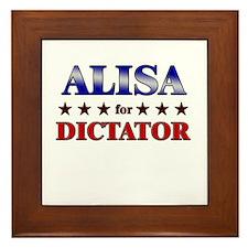 ALISA for dictator Framed Tile