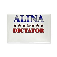 ALINA for dictator Rectangle Magnet