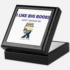 Like Big Books (m) Keepsake Box