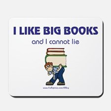 Like Big Books (m) Mousepad