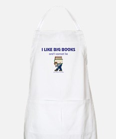 Like Big Books (m) BBQ Apron