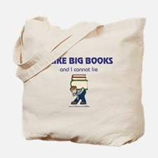 Like Big Books (m) Tote Bag