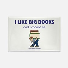 Like Big Books (m) Rectangle Magnet