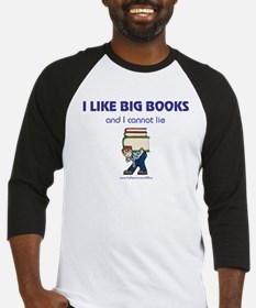 Like Big Books (m) Baseball Jersey