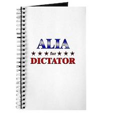 ALIA for dictator Journal