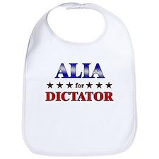 ALIA for dictator Bib