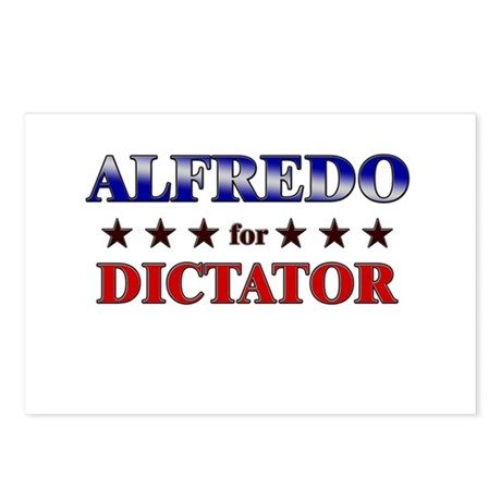 ALFREDO for dictator Postcards (Package of 8)