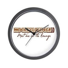 HockeyLounge.com Wall Clock