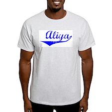 Aliya Vintage (Blue) T-Shirt