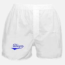 Aliya Vintage (Blue) Boxer Shorts
