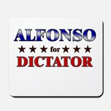 ALFONSO for dictator Mousepad