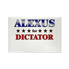 ALEXUS for dictator Rectangle Magnet