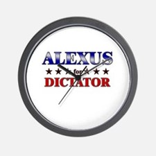 ALEXUS for dictator Wall Clock