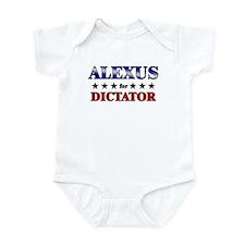 ALEXUS for dictator Onesie